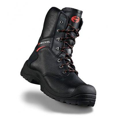 Vysoká bezpečnostná obuv s oddľahčenou kompozitnou špičkou Heckel MACsole® EXTREM 2,0 - MACFOREST ZIP 6265002 (Farba čierna, Veľkosť 36)