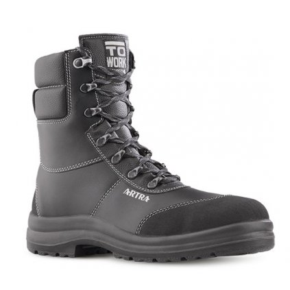 a1ab0973cb1ed Vysoká pracovná obuv s oceľovou špičkou ARKANSAS 860 6260 S3 CI SRC  (Veľkosť 48)