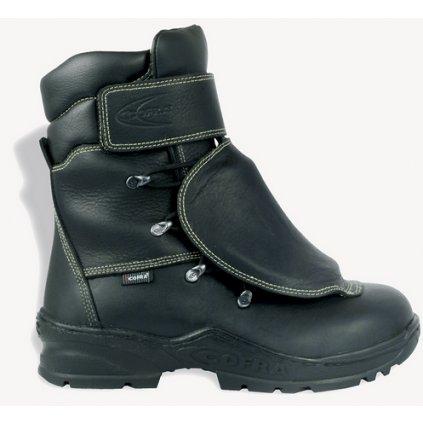 Vysoká zváračská bezpečnostná obuv COFRA FOUNDRY S3 M HRO HI SRC : TALIANSKÁ VÝROBA (Veľkosť 48)