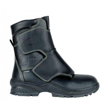 Vysoká zváračská bezpečnostná obuv s odľahčenou kompozitnou špičkou a planžetou proti prierazu COFRA FUSION S3 HI HRO FE AL HI1 SRC : TALIANSKÁ VÝROBA (Veľkosť 48)