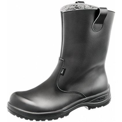 Zimné pracovné a voľnočasové čižmy špičkovej kvality  BOOT WINTER (Veľkosť 48, Farba čierna)