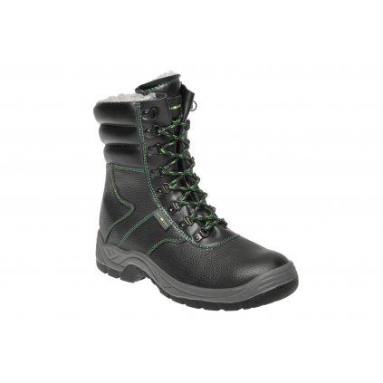 ZS - ADM CLASSIC: Holeň S3 Winter boot - black C93890 (Veľkosť 48, Farba čierna)