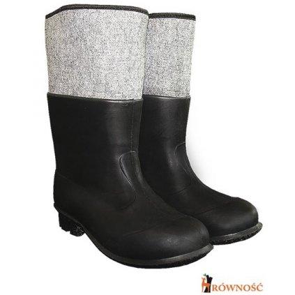 RW00-BF-PCVCZ Pracovná obuv (Farba čierna, Veľkosť 44-45)