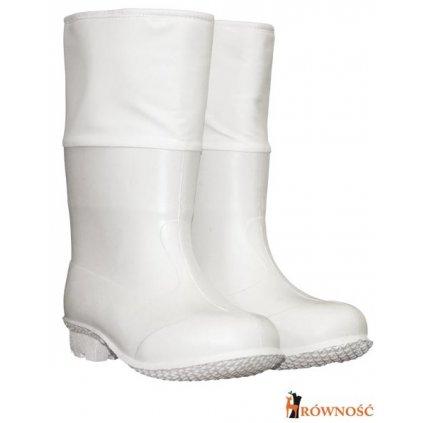 RW00-BF-PCVCZS Pracovná obuv pre potravinársky priemysel (Farba Biela, Veľkosť 44-45)