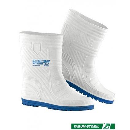 RW00-BFSK13022PRO Profesionálna krátka obuv pre potravinársky priemysel (Farba Biela, Veľkosť 42)