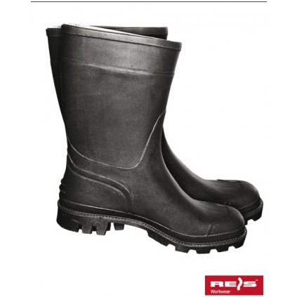 RW00-BGPCVK Pracovná obuv krátka (Veľkosť 48, Farba čierna)