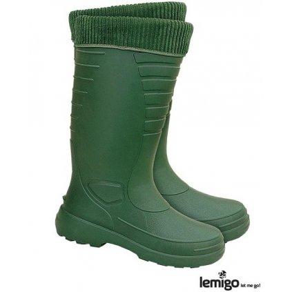 RW00-BLGRENLANDER Zateplená obuv (Farba Zelená, Veľkosť 44)