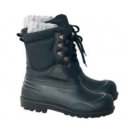 RW00-BLPIONIER Zateplená obuv (Veľkosť 47, Farba čierna)