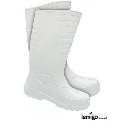 RW00-BLWELLINGTON Zateplená pracovná obuv (Farba Biela, Veľkosť 44)