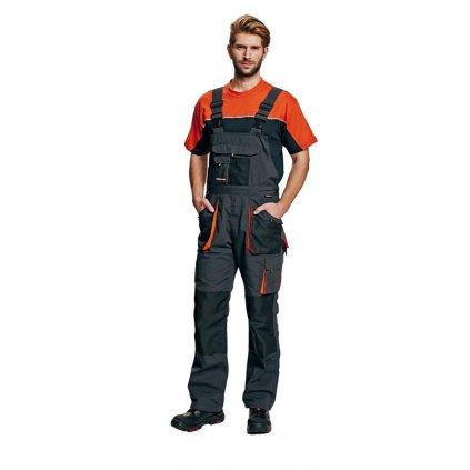 Pánske pracovné nohavice s náprsenkou EMERTON
