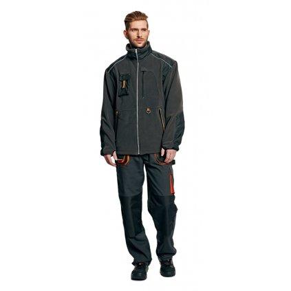 74547a7da14 Pánska zimná pracovná fleecová bunda EMERTON