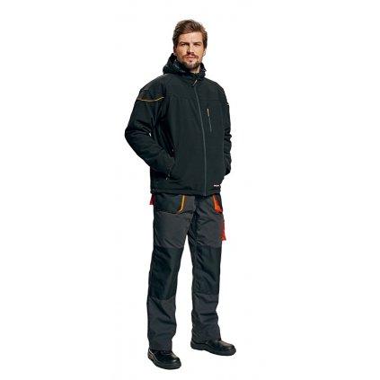 Pánska pracovná a volňočasová softshellová bunda EMERTON