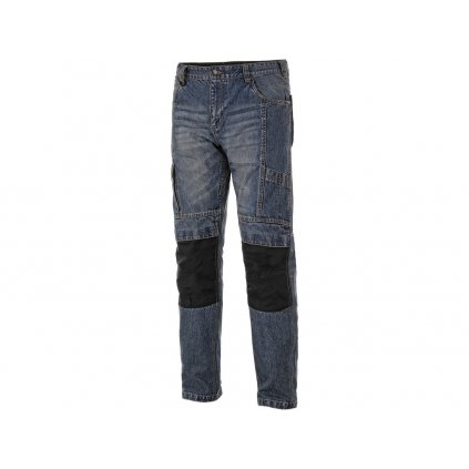 Pánske riflové pracovné nohavice NIMES