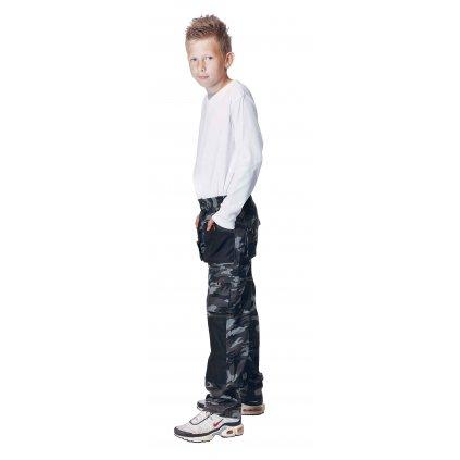 Detské pracovné nohavice EMERTON CAMOUFLAGE KIDS
