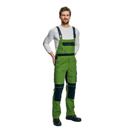Pánske pracovné nohavice s náprsenkou STANMORE