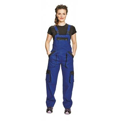 Dámske pracovné nohavice s náprsenkou MAX LADY