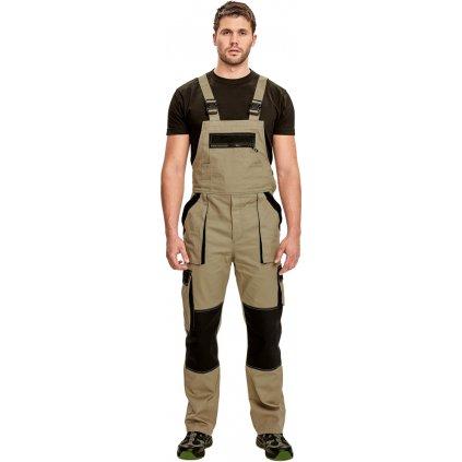 Pánske pracovné nohavice s náprsenkou MAX SUMMER 1
