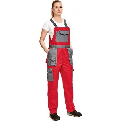 Dámske pracovné nohavice s náprsenkou MAX EVOLUTION LADY 1