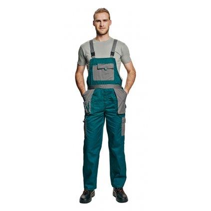 Pánske pracovné nohavice s náprsenkou MAX EVOLUTION 1