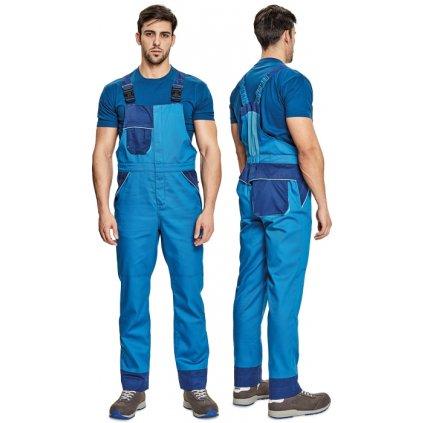 Pánske pracovné nohavice s náprsenkou MONTROSE 1