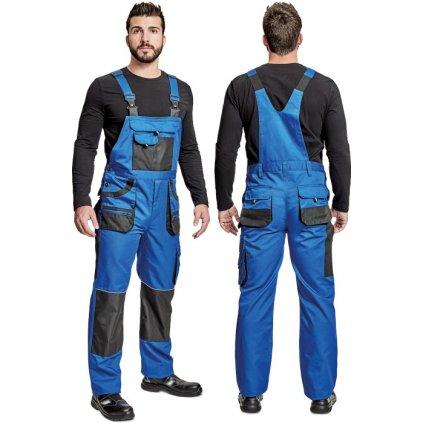 Pánske pracovné nohavice s náprsenkou CARL BE 01 004 0