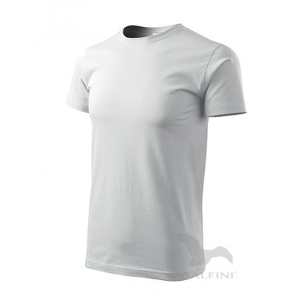 Tričko pánske BASIC 1 Biela 00
