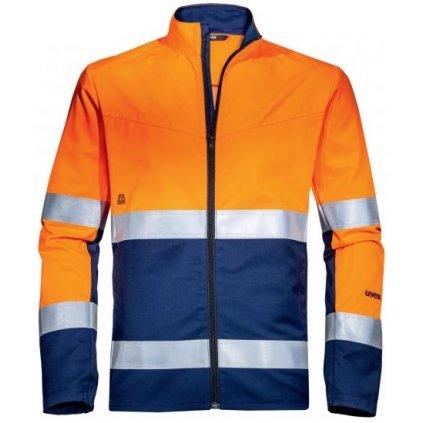 reflexná bunda UVEX oranžová