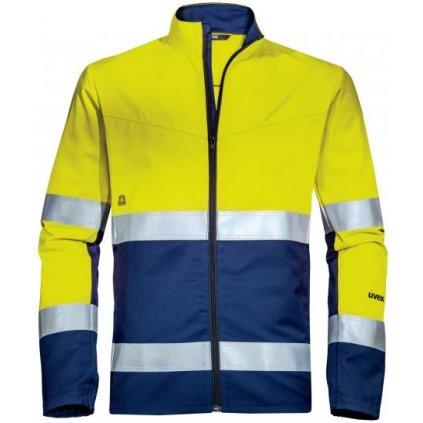 Uvex reflexná žltá bunda