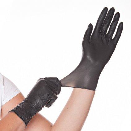 Latexové rukavice DIABLO