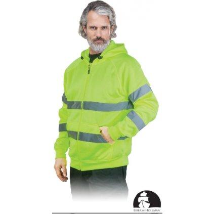 Ochranná bunda na zips LH AMSEL DS Y Raw Pol 1