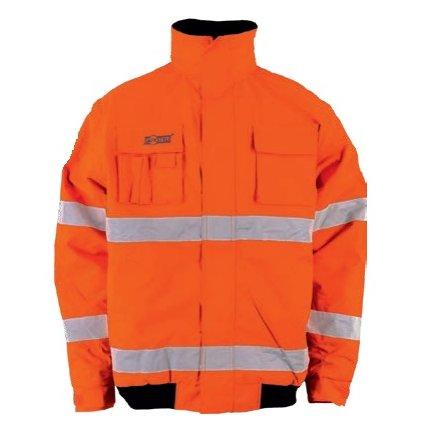 Reflexná bunda Warnbau Pilotenjacke orange 1
