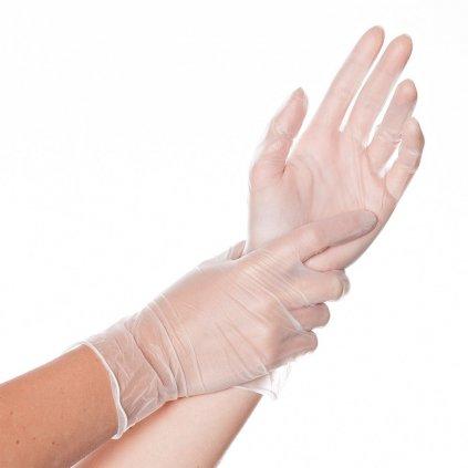 vinylové rukavice ideál