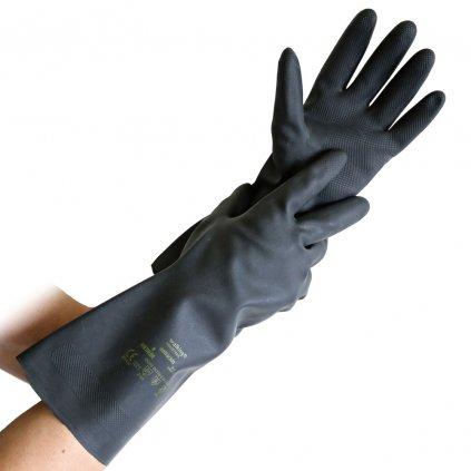 rukavice odolné voči chemikaliam