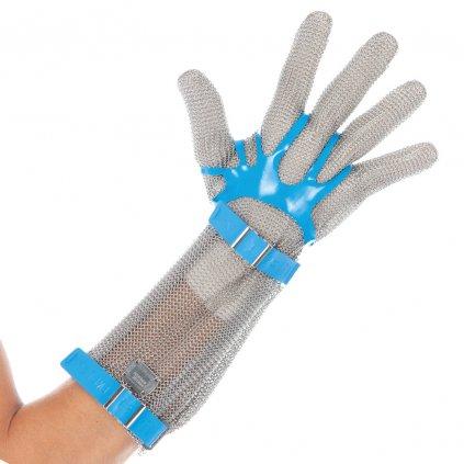 rukavice z kovovej sietoviny