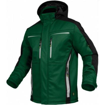 zimná bunda flex line zelená