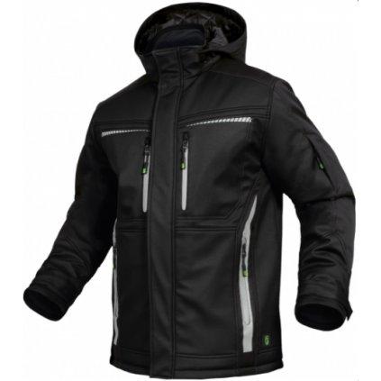 zimná bunda flex line čierna