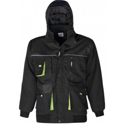 zimná bunda power čierna