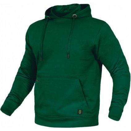 mikina flex line zelená