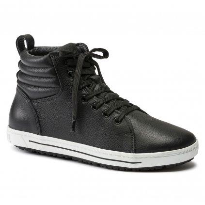 "Pracovné členkové topánky športového dizajnu ""BIRKENSTOCK QO 700 NL schwarz O2 24063"""