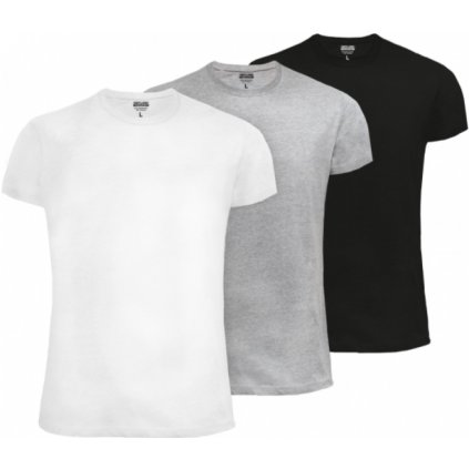 Pánske tričko 3ks Triuso