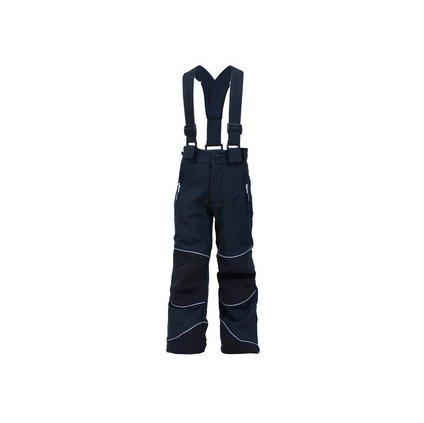 Detské softshell nohavice DRAGONFLY, čierne, veľ. 16