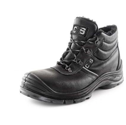 Obuv členková CXS SAFETY STEEL NICKEL S3, zimné, čierna, veľ. 44