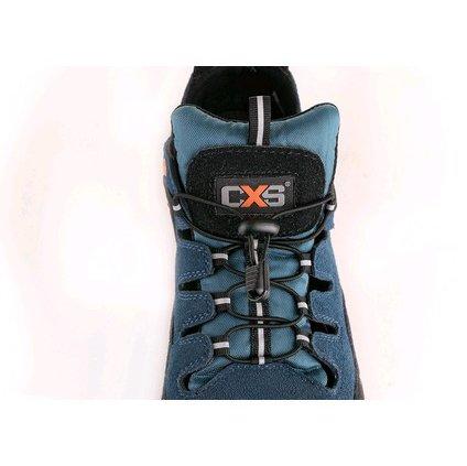 Obuv sandál CXS LAND CABRERA S1, ocel.šp., čierno-modrá, veľ. 35