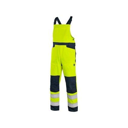 Žlté výstražné nohavice CXS HALIFAX