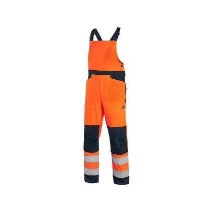 Oranžové výstražné montérky na traky CXS HALIFAX