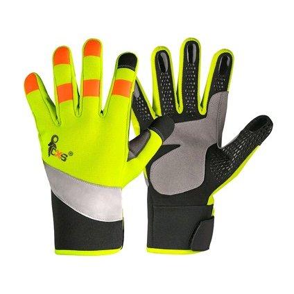 Pracovné rukavice s výstražnými doplnkami CXS BENSON