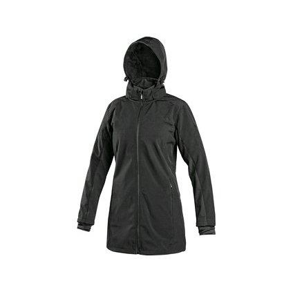 Dámsky čierny softshelový kabát  CXS ORLEANS