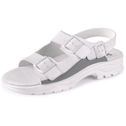 Biele pracovné sandále CXS PAOLO