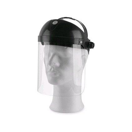 Ochranný štít na ochranu tváre OP - 2 s  dĺžkou 205 mm