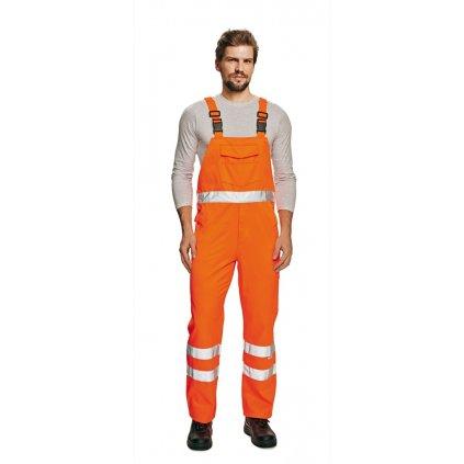 CRV KOROS: Pracovné nohavice s náprsenkou - 0302 0065 90